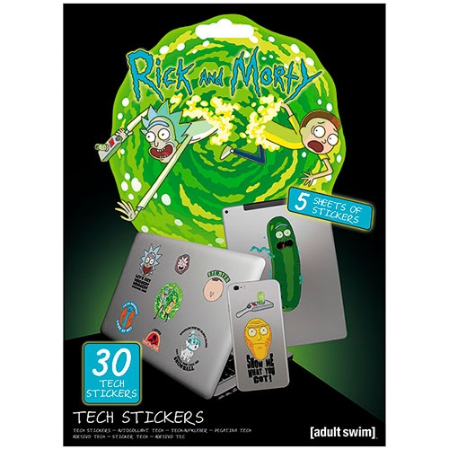 Set Stickers Rick And Morty