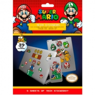 Set Stickers Super Mario