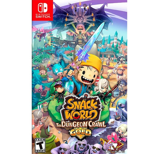 Snack World The Dungeon Crawl Switch