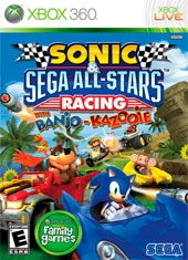 Sonic Sega All Star Racing Xbox 360