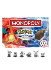 Tablero Pokemon Kanto Edition MONOPOLY