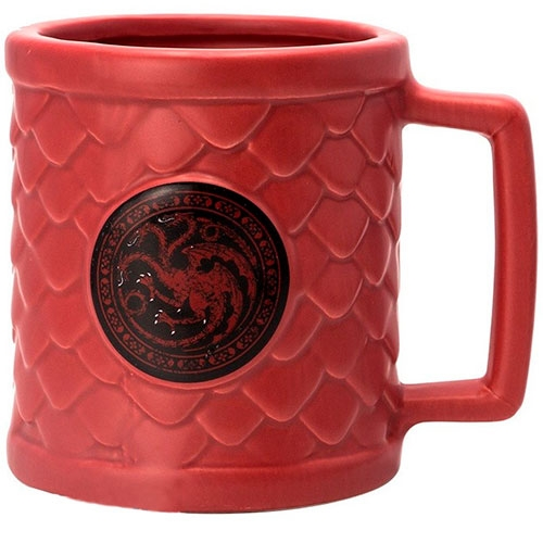 Tazón 3D Game Of Thrones Targaryen