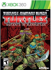 Teenage Mutant Ninja Turtles Mutants in Manhattan Xbox 360