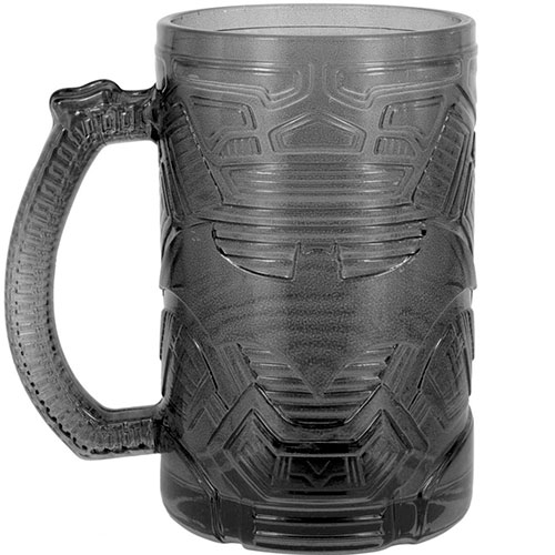 Vaso Vidrio Batman Shaped Stein