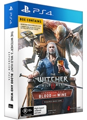 The Witcher III Wild Hunt Blood And Wine Limited Edition Set PS4