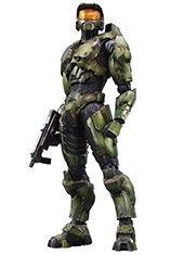 Figura Play Arts Master Chief Collection Halo No.4 Anniversary Edition