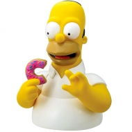 Alcancia Homero Simpson With Donut