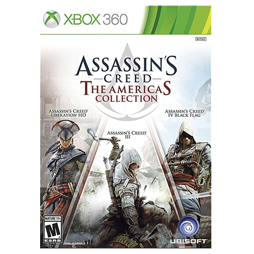Assassins Creed The Americas Collection Xbox 360
