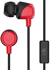 Audífonos In Ear JIB con Micrófono Red / Black Skullcandy