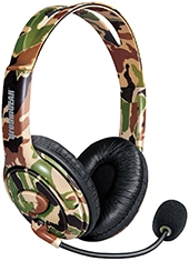 Audífonos XTalk Gaming Xbox One Camo DreamGEAR