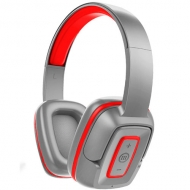 Audífonos Over Ear Bluetooth-300 Hook Shadow Gris Rojo Maxell