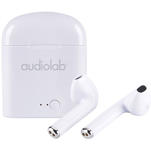 Audífonos In Ear Bluetooth Blanco Audiolab
