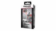 Audífonos In Ear Bluetooth Fusion+ Gris/Rojo Maxell