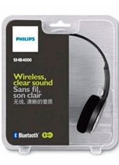 Audífonos Bluetooth Negro SHB4000 Philips