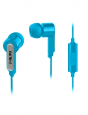 Audifono In Ear Con Microfono  Azul Philips
