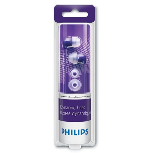 Audífono In-Ear SHE-3590PP Purpura Philips