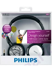 Audífonos Mp3 Changeable Designs SHL8800 Philips