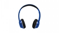 Audífonos Over Ear Bluetooth Con Radio 725BK Azul Monster