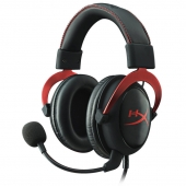 Audífonos, Gaming, gamer, headset, Red, Hyper X, hyperx, Cloud II, cloud2, cloud 2, 7.1, Kingston