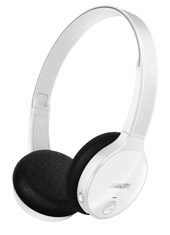Audífonos Over Ear Bluetooth SHB4100 Blanco Philips
