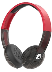 Audifonos Over Ear Bluetooth Uproar Black / Red Skullcandy