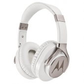 Audífonos, phones, headphones, fonos, Over Ear, overear, Pulse, Max, blanco, white, con cable, Motorola