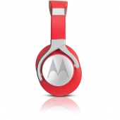 Audífonos Over Ear Pulse Max Rojo con cable Motorola