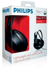 Audífonos Music TV SHP1900 Philips
