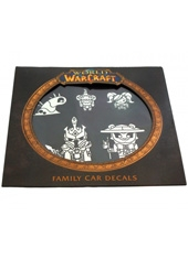 Autoadhesivos para auto World of WarCraft Family Car Decals Blizzard