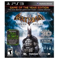 Batman Arkham Asylum Game of The Year Edition 3D PS3