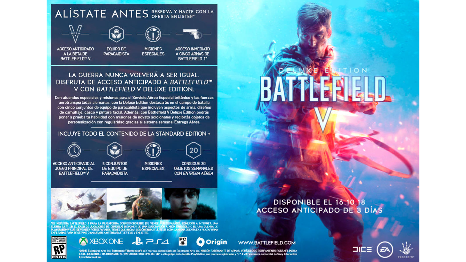 Battlefield V Deluxe Edition Ps4 Microplay