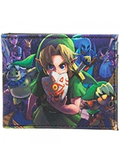Billetera Nintendo The Legend Of Zelda Majoras Mask Sublimated Bi-Fold