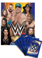 Blister Álbum WWE + 10 sobres