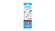 Cable 3 En 1 Metalico Gris Philco