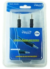 Cable De Audio 3.5 A 3.5 Njoytech