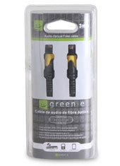Cable Fibra Óptica 3mts Green-E