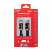 Cable Flat HDMI con Ethernet 1.8Mts iSound