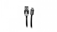 Cable Iphone 2,1A Duracell 3 Mt Negro