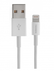 Cable Iphone Blanco Duracell