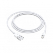 Cable Lightning iPhone 5/5C/5S/6 1Mts Blanco Apple
