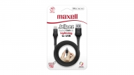 Cable Lightning 1.2M Jelleez Negro Maxell