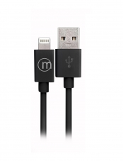 Cable Lightning Iphone  Negro Microlab