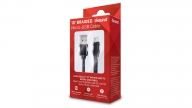 Cable Micro USB 3M Braided Negro Isound