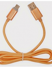 Cable Micro Usb 1m Gold Tecmaster