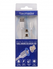 Cable Micro Usb Magnetico 1.8m Tecmaster