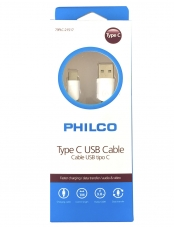 Cable Type C a USB 1M Philco