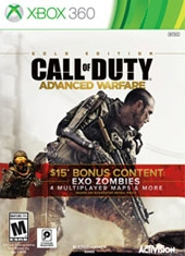 Call of Duty Advanced Warfare Gold Edition Xbox 360