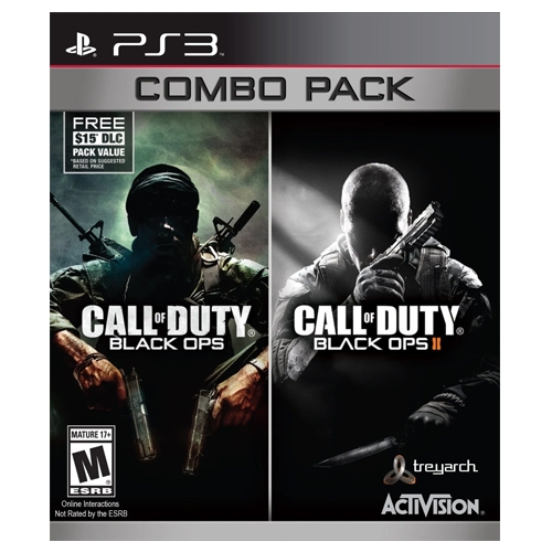 Call of Duty Black OPS 1 y 2 Combo Pack PS3