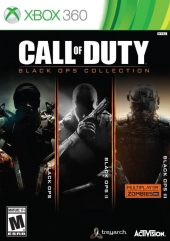 Call of Duty, cod, Black Ops, codbo, Collection, Xbox 360, Xbox, xbox360, X360, x 360, treyarch, activision