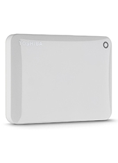 Disco Duro Canvio Connect II V8 1TB Blanco USB 3.0 TOSHIBA